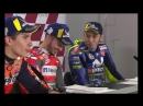 1 этап MotoGP. Валентино Росси, Марк Маркес, Андрэа Довициозо