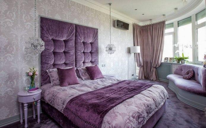 Велюровая спальня, как вам?