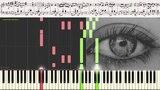 Ах, эти чёрные глаза - Оскар Строк (Ноты, Фортепиано, Баян) (piano cover)