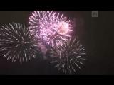 Новогодний салют из разных городов России