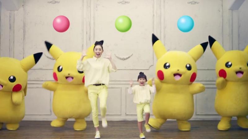 Японская Реклама - Вкусняшки Lotte - Pokemon
