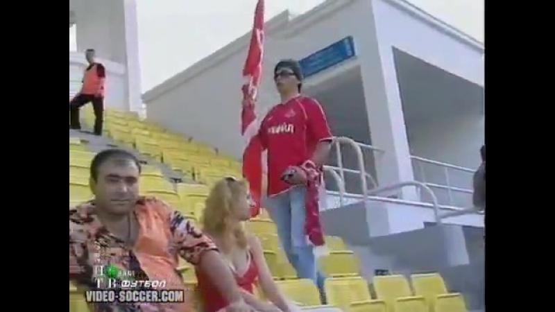 Лига Чемпионов 2006/07. Шериф (Молдавия) - Спартак (Москва) - 1:1 (0:0)