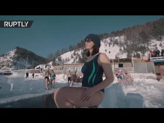 Satisfaction по-сибирски_ иркутские моржи сняли свою версию ролика на Байкале