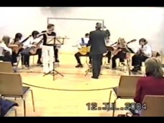 Э Григ танец анитры 2004 флейта Е Бренер ансамбль Анимато Г Фетисов