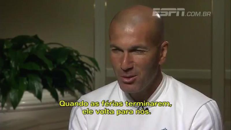 Зидан: Роналду останется в Реале