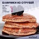 Диетический завтрак: блинчики из отрубей