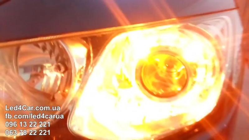 Свет и DRL c повторителем поворота на Honda Civic 4D