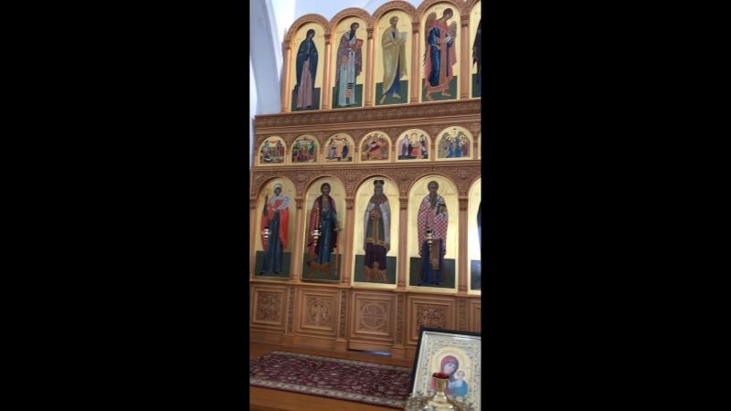 Иконостас Кадомский Свято-Милостиво-Богородицкий монастырь