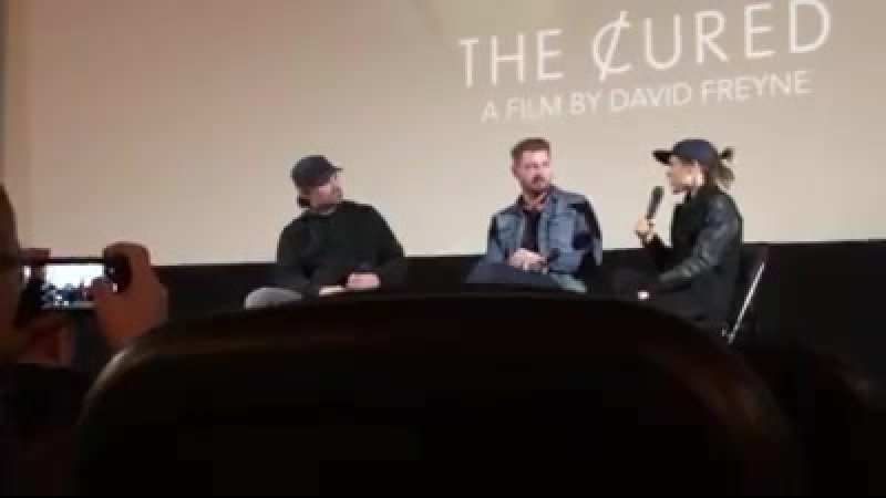 THE CURED at Nuart Theater w Q A with star prod Ellen Page writ dir David Freyne and moderated by filmmaker Joe Lynch