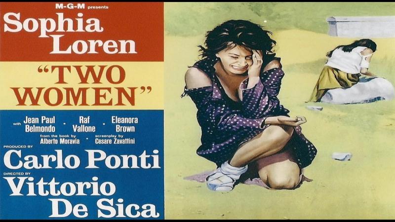 La Ciociara (1960) V.DeSica- Sophia Loren,Jean-Paul Belmondo,Raf Vallone