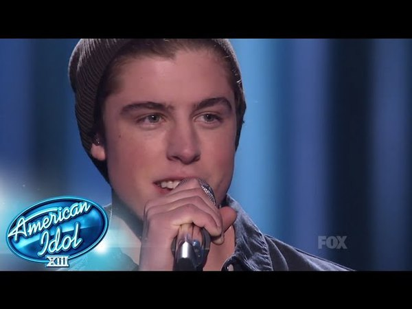 Top 6 Sam Woolf You're Still The One AMERICAN IDOL XIII