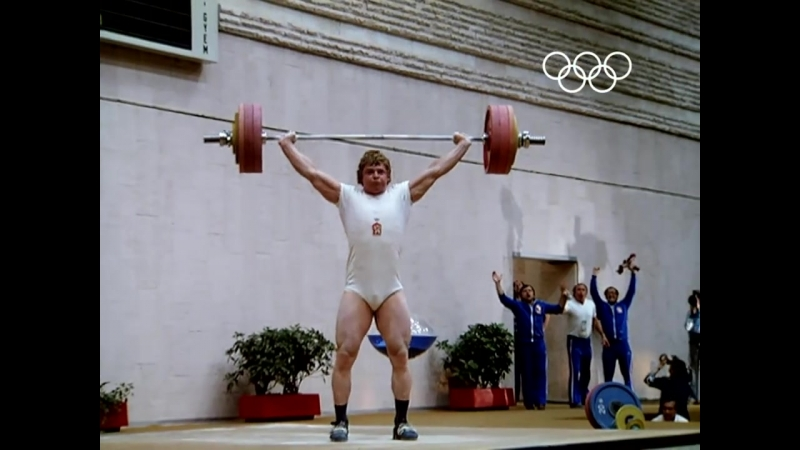 Weightlifting Failure Success - Moscow 1980 Olympics