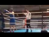 Эксклюзивные кадры боёв касимовской спортсменки на международной арене