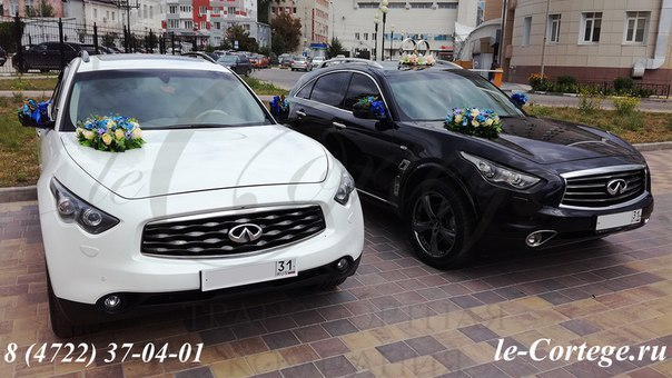 Прокат авто на свадьбу белгород