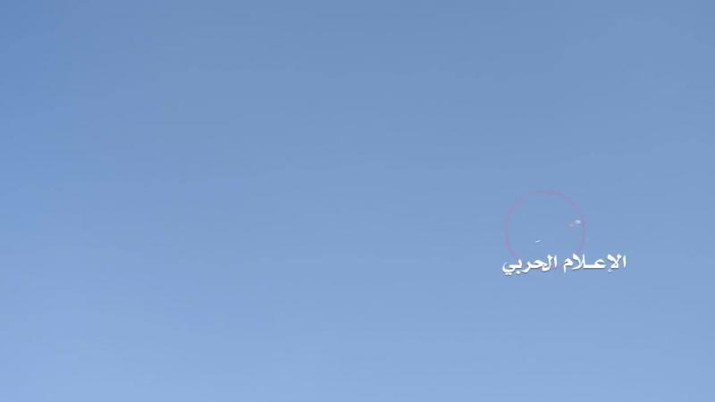 Йемен.21-03-2018 Запуск ракеты