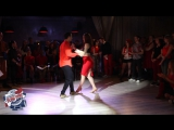 04 Bachata Battle couples round 1 Timur & Aglaya vs Petr & Olesya