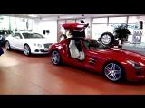 Mercedes Benz SLS 63 AMG и Bentley Continental  4 слоя  Керамическоезащитное покрытие Opti-Coat Pro +