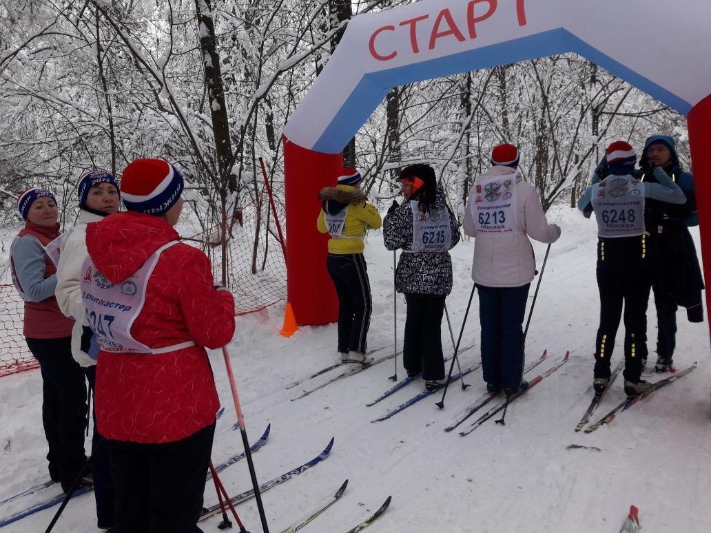 Лыжники. Автор фото: Ирина