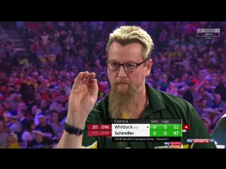 Simon Whitlock vs Martin Schindler (PDC World Darts Championship 2018 / Round 1)