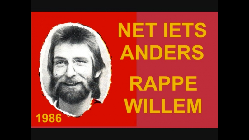 Net iets anders - Rappe Willem (1986)