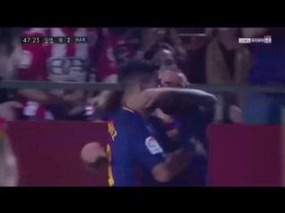 Испания  ЛаЛига Жирона - Барселона 0:3 обзор  HD