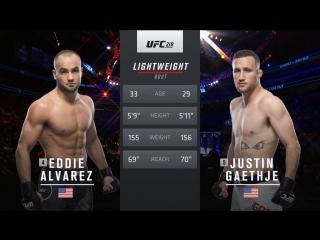 UFC 218 Eddie Alvarez vs Justin Gaethje