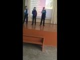 Мальчишки молодцы)Сынуля зажигает))))