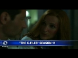 New X-Files S11 footage edited from an interview with CC by a FOX affiliate station