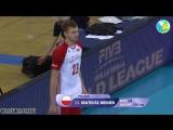 TOP 10 Best Volleball Spikes by Mateusz Bieniek - Siatkówka - Volleyball Highlights