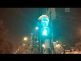 Светофор в Воронеже «сошел с ума»