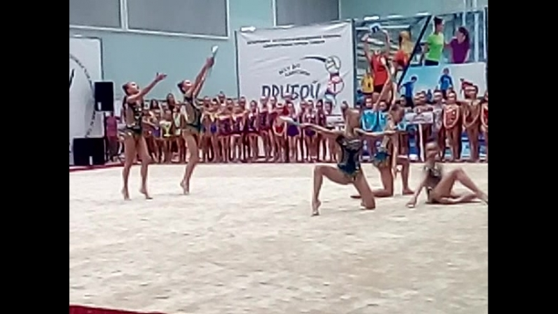 сборная тюменской обл.по худож.гтмнастике