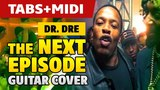 Dr. Dre ft. Snoop Dogg The Next Episode (acoustic guitar solo with tabs)