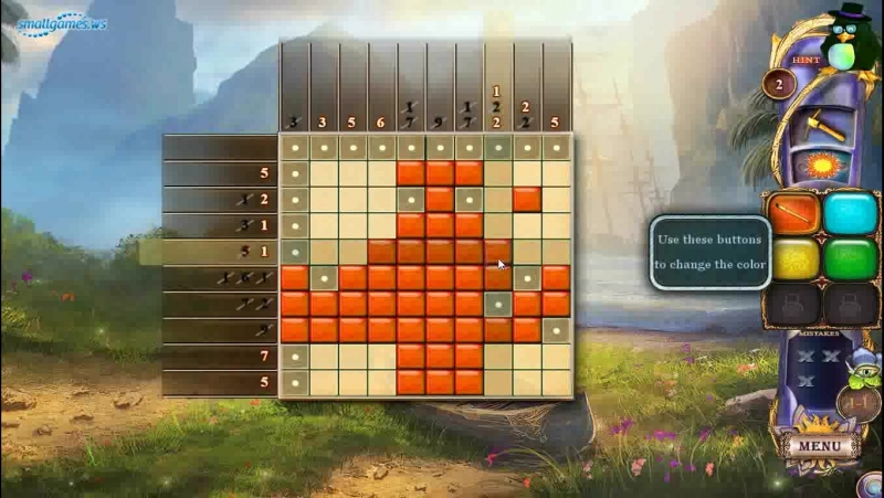 Fantasy Mosaics 24: Deserted Island (Геймплей)