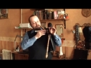 Школа игры на волынке В. Молодцова. Первый урок. Работа с мешком. Дыхание.