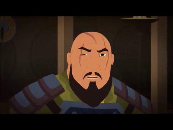 Отырарды алтай бойы алалмау-Қазақша мультфильм, казакша мультфильм (на казахском языке)