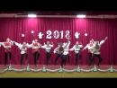 Русский народный танец в исполнении кадет 1 курса танцевального класса..