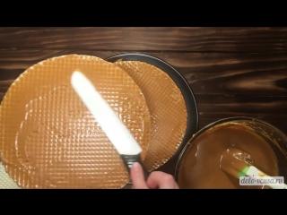 Вафельный торт со сгущенкой ~ Умный Дом ~
