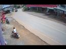 Везучий мотоциклист