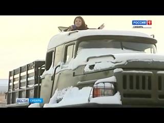 Самодельный вездеход «Покемон» заметили на дорогах города Асино Томской области