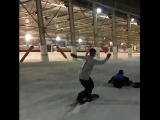 Опасный сноубординг