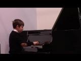 Би-Боп-Блюз Всеволод Тимофеев. Егор Емельяненко, фортепиано. GNESIN-JAZZ-2015.