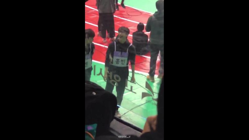 [Fancam] 180115 VIXX Hongbin @ ISAC 2018
