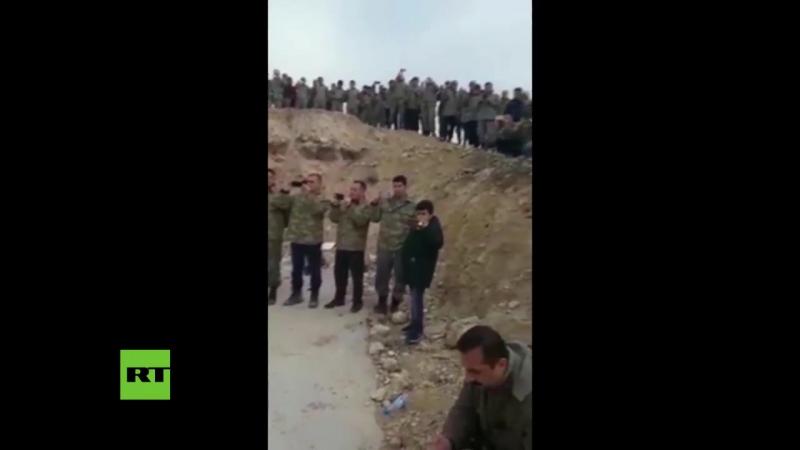 Turkei veranstaltet Konzert- Osmanische Kriegsmusik fur Soldaten im Kampfeinsatz um Afrin