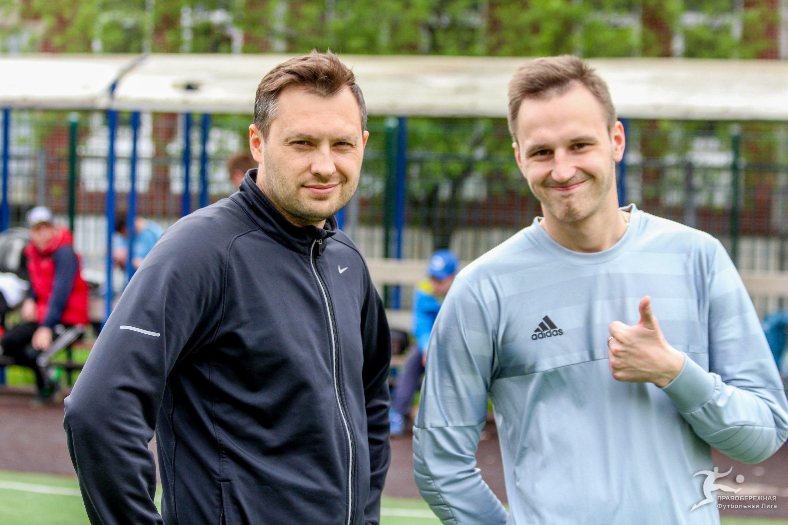 Евгений Камынин и Дмитрий Пивицкий на турнире пенальтистов 2017
