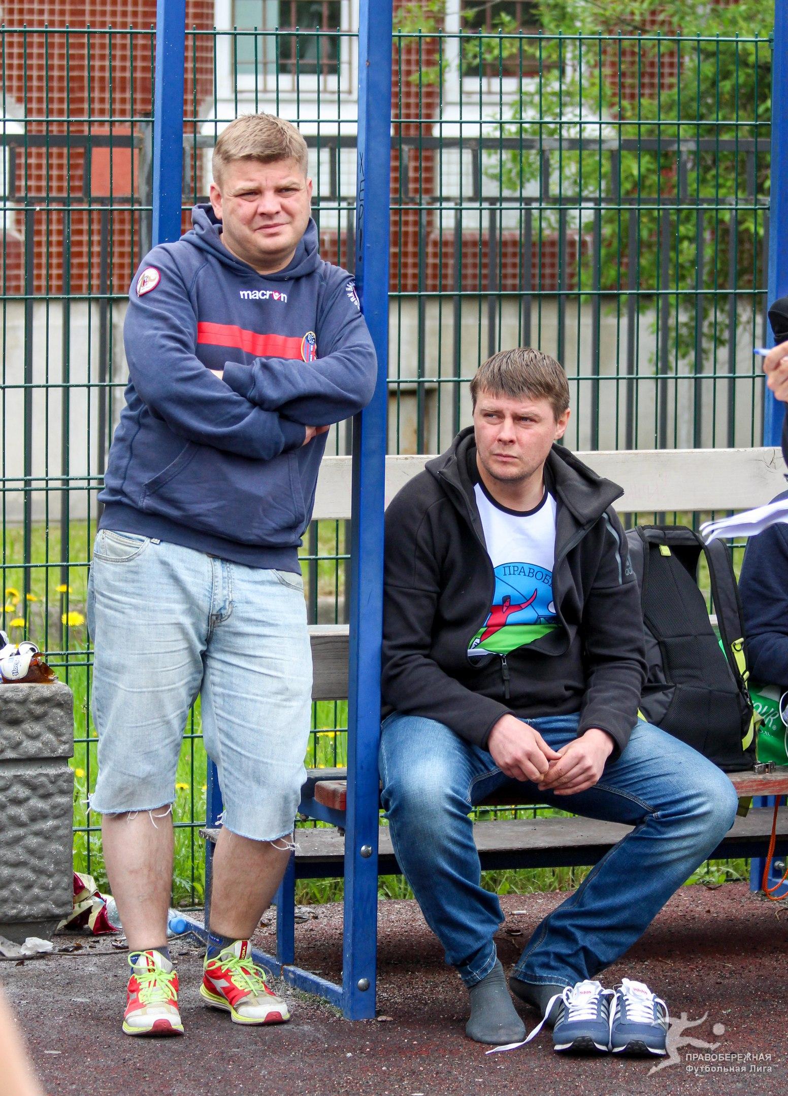 Андрей Наумочкин и Максим Русаков на турнире пенальтистов 2017