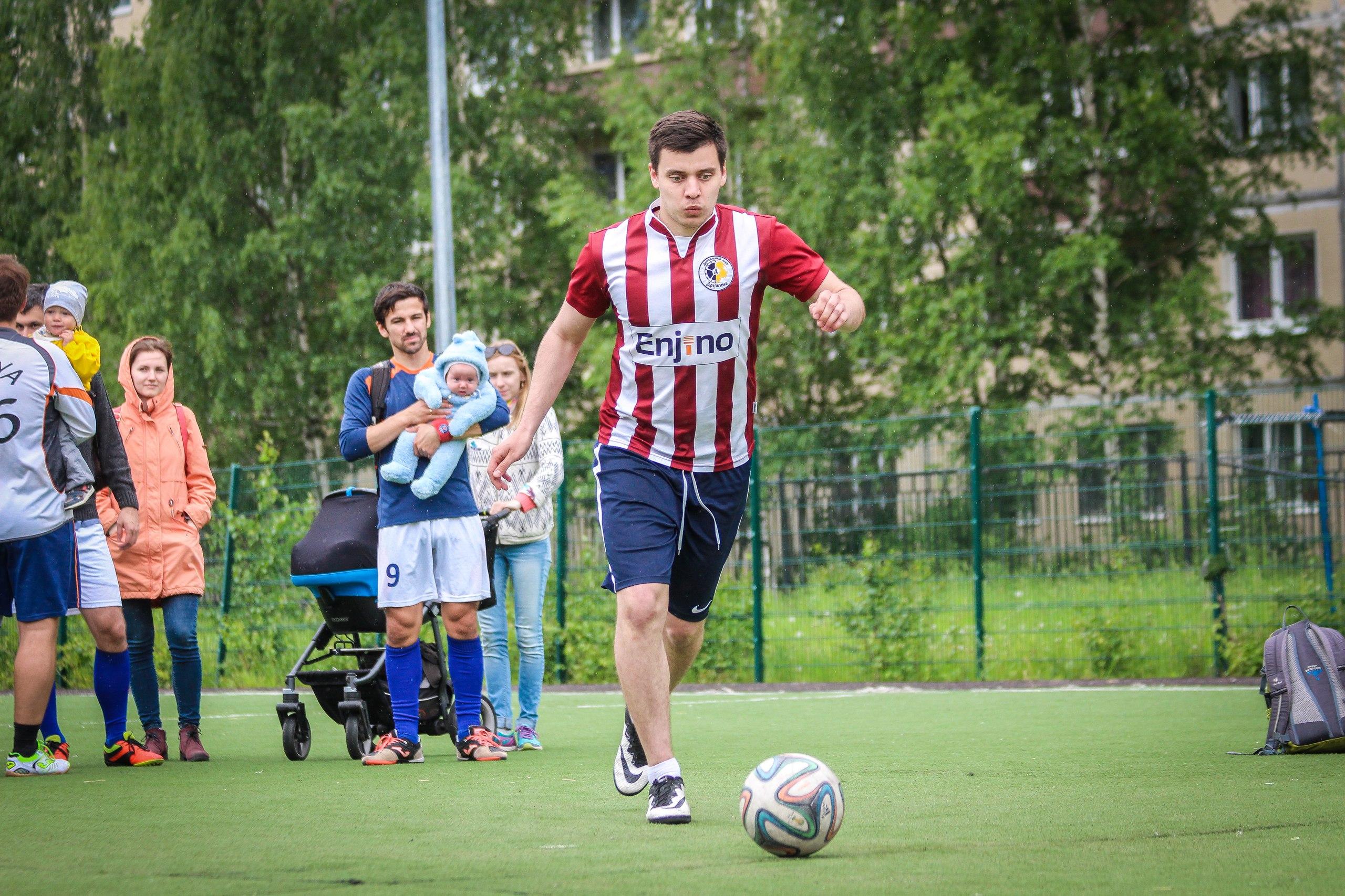 Олег Гордин на турнире пенальтистов 2017