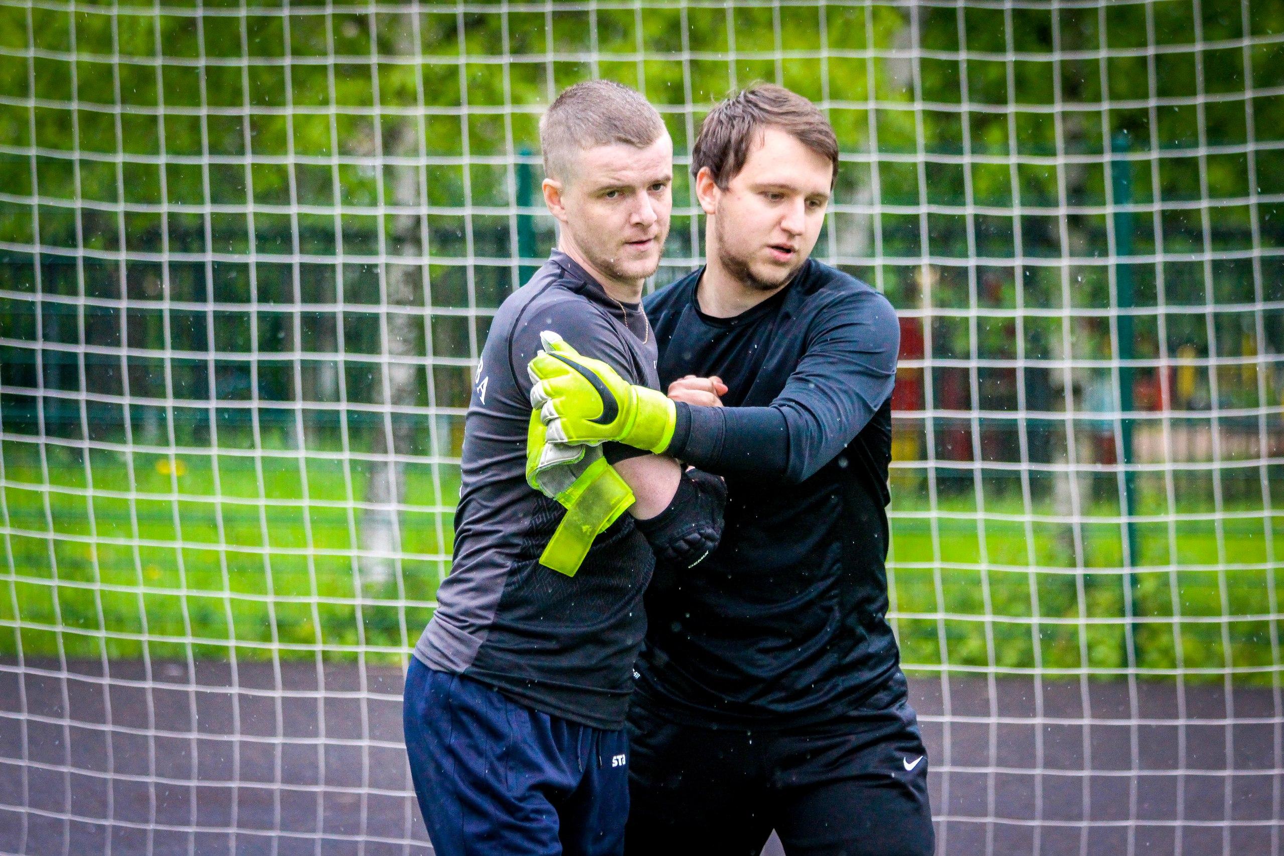 Дмитрий Пирог и Федор Фукалов на турнире пенальтистов 2017