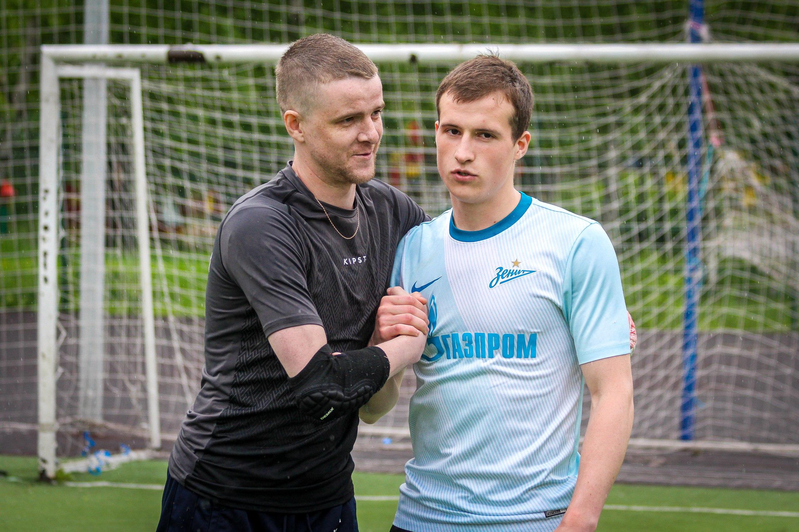 Дмитрий Пирог и Олег Овчинников на турнире пенальтистов 2017