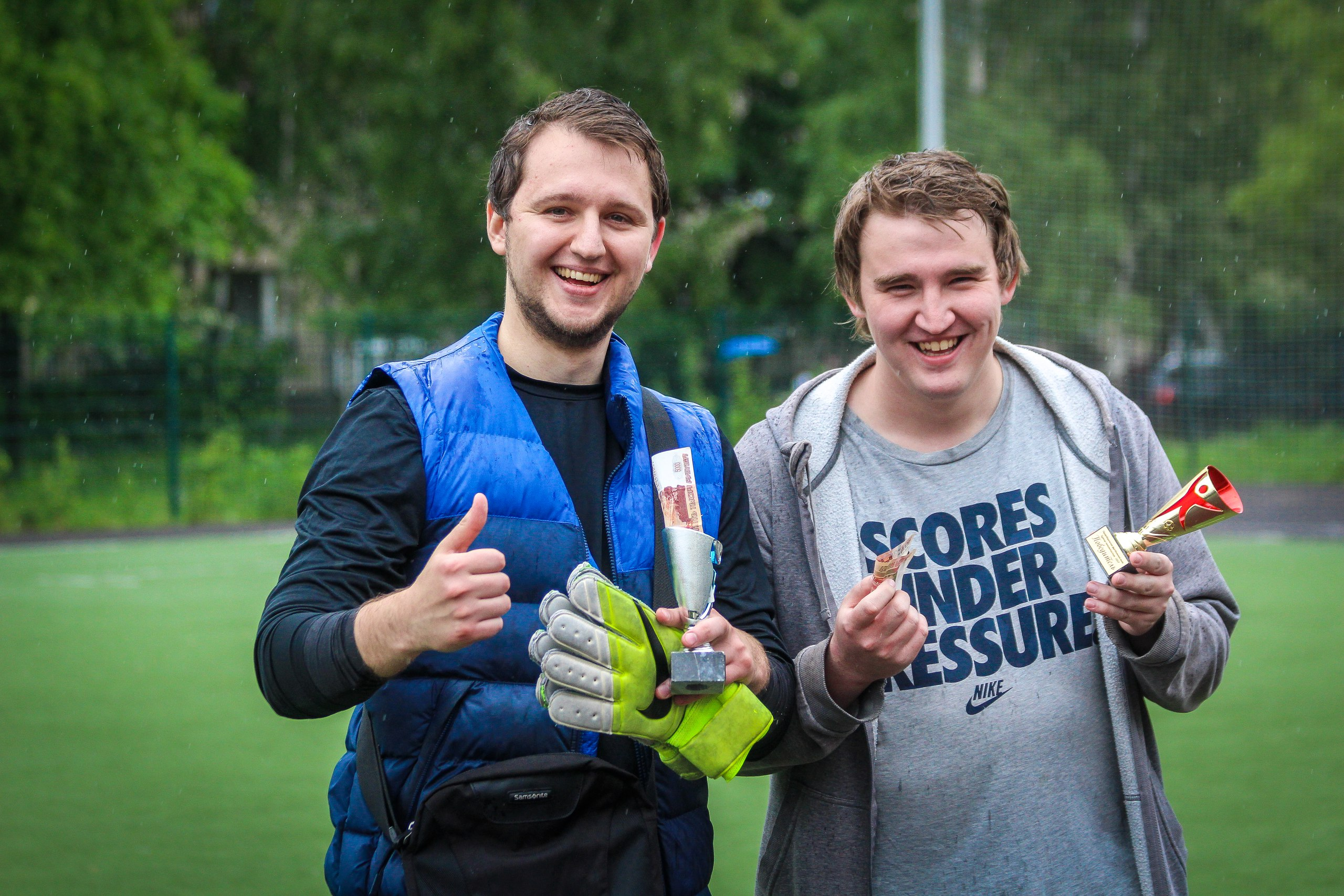 Федор Фукалов и Максим Анциферов - победители турнира пенальтистов - 2017.