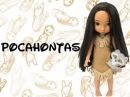 Евуля распаковывает куклу Аниматор Покахонтас дисней ( disney animators pocahontas )